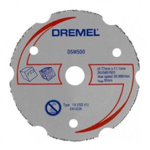 DREMEL® DSM20 disco da taglio multiuso in carbonio (DSM500)