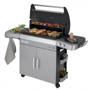 Barbecue a gas Campingaz 3 Series RBS L in acciaio bruciatori 2