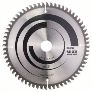 Bosch Lama per seghe circolari Multi Material 235 x 30/25 x 2,4 mm, 64