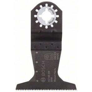 Bosch Lama per tagli dal pieno BIM AIZ 65 BB, Wood and Nails 40 x 65 mm