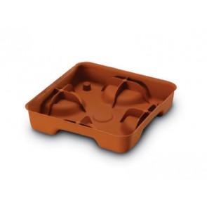 Sottovaso In Plastica  Scidro  per Sutri Cm.40