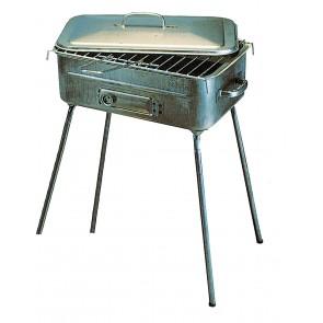 Barbecue  Fornacetta  In Lamiera Rettangolare
