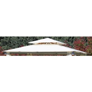 Top Coxtura per Gazebo  Top Alu  Mt. 3x4