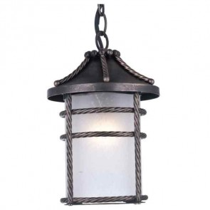 Lanterna da giardino ANVERSA con CATENA H28 lampada 60w