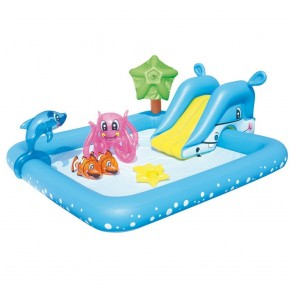 Piscina Gonfiabile Play Center BESTWAY 53052 Aquarium giochi 239x206x86cm
