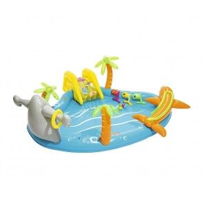 Piscina Gonfiabile Play Center BESTWAY 53067 MARE giochi 280x257x87H