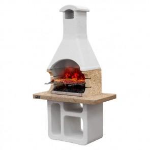 Barbecue in muratura a carbonella e legna  Sunday Grill MCZ VICTORIA CRYSTAL griglia 67x40