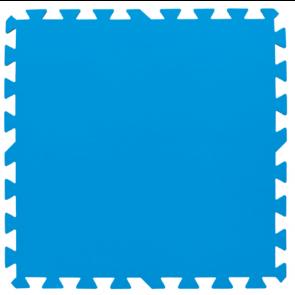 Tappeto Sottopiscina Morbido BLU Bestway 50x50 x 8 PEZZI 58220 FONDO PISCINA