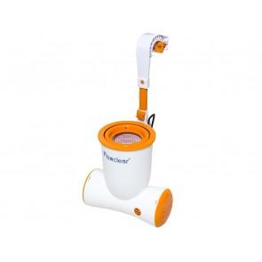 Pompa Filtraggio Piscina Bestway SKIMATIC 58462 2,574 L/H filtro cartuccia Flowclear