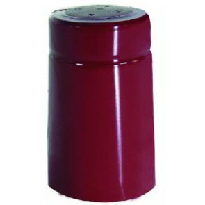 Capsula Termoretraibile Pvc 31x55 Rosso Pz100