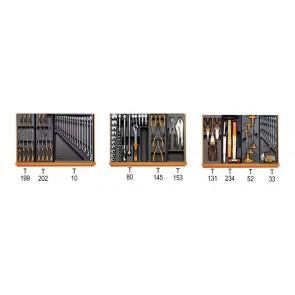 Beta Assortimento di 135 utensili in termoformato morbido 5988 UX/MP-L