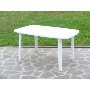 Tavolo Resina Art.56  Cm.137x85 Bianco
