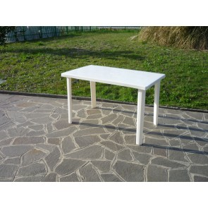 Tavolo Resina Art.54  Cm.120x70 Bianco