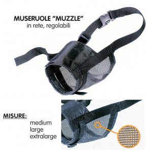 Museruola Muzzle Net Extra Large            I