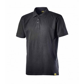 Diadora Utility POLO MC ATLAR II NERO da S a 3XL