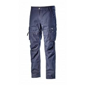 Diadora Utility Pantalone WIN II  ISO 13688:2013 BLU TUAREG da XS a 3XL