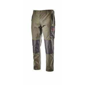 Diadora Utility Pantalone PANT STRETCH ISO 13688:2013 VERDE FORESTA NOTTE da S a 3XL