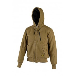 Diadora Utility Giacca JACKET PADDED CANVAS 13688:2013 MARRONE TABACCO da S a 3XL