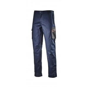 Diadora Utility Pantalone CARGO STRETCH ISO 13688:2013 BLU CLASSICO da S a 3XL