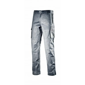 Diadora Utility Pantalone CARGO STRETCH ISO 13688:2013 GRIGIO PIOGGIA da S a 3XL