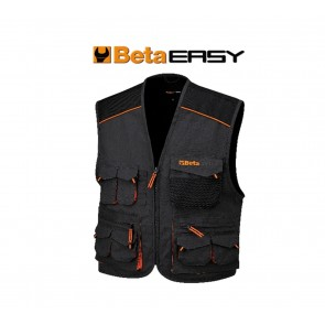 Gilet da lavoro Beta 7907E in T/C canvas 260 g antinfortunistica