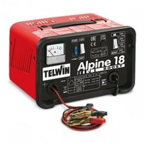 Carica Batteria Telwin ALPINE 18 BOOST 807545 230V 12-24V 807545 con protezione da sovraccarichi