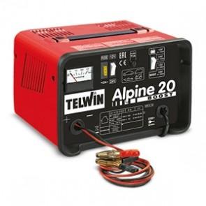 Carica Batteria Telwin ALPINE 20 BOOST 807546 230V 12-24V 807545 con protezione da sovraccarichi
