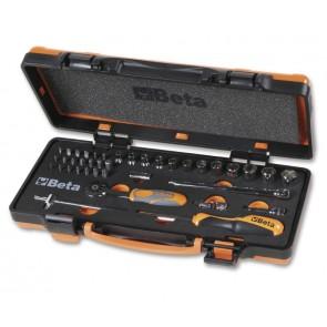 Cassette 39pz Bussole+Inserti 1/4 /C12z BETA Cod. 900/C12MZ