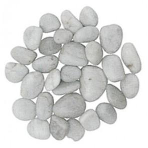 Ciottoli Levigati Bianco  (Conf.10Kg.)