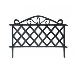 Steccato per giardino in ABS dimensioni 47,5x36h