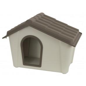 Cuccia per Cani Res. 57x39x42H Tort/Beige