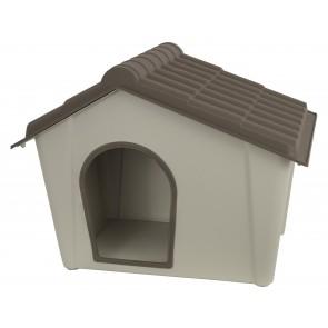 Cuccia per Cani Res. 79x59,2x60,8H Tort/Beige