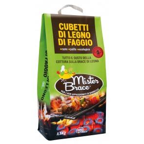 Cubetti Di Faggio  Mister Brace  Kg.3,5