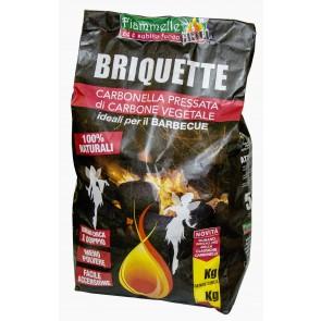Briquette Di Carbone In Sacchi Da 3 Kg.