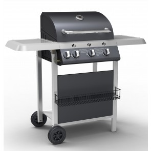 Barbecue A Gas 3 Fuochi Con Fornello H16023B