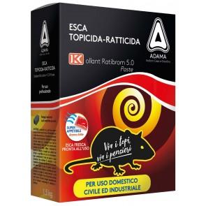 Esca Topicida Ratibrom 5.0 Kg.1,5 (3x500 Gr.)