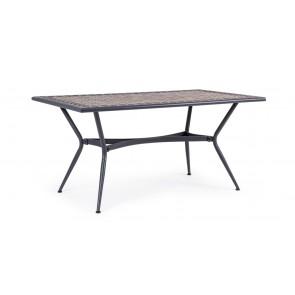 Tavolo in Acciaio Bizzotto Berkley 160x90cm