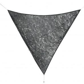 Vela Ombreggiante Bizzotto Moon Grigio Scuro 3,6x3,6m
