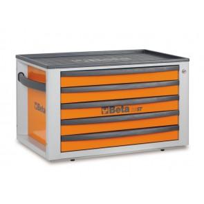 Beta cassettiera portatile con cinque cassetti C23ST R