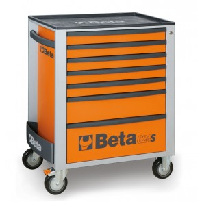 Cassett.7 Drawers Vuote Red C24s 7/R BETA Cod. C24S/7-R