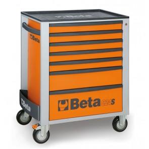 Cassett.7 Drawers Black 9005 C24s 7/N BETA Cod. C24S/7-N