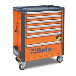 Cass.7 Drawers Antirib. Orange C37a 7/O BETA Cod. C37A/7-O