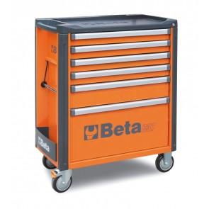 Cassett.6 Drawers Vuote Orange C37 6/O BETA Cod. C37/6-O