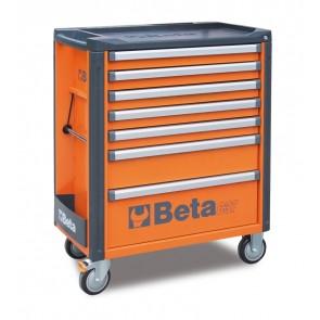 Cassett.7 Drawers Vuote Orange C37 7/O BETA Cod. C37/7-O