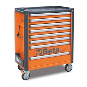 Cassett.8 Drawers Vuote Orange C37 8/O BETA Cod. C37/8-O