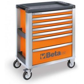 Cassettiere 7 Cassetti Vuote Orange O BETA Cod. C39-7/O