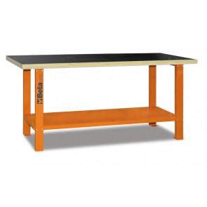 Banchi Con Piano Legno 2mt Orange B-O BETA Cod. C56B-O