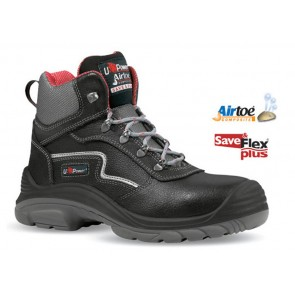 Scarpe Antinfortunistica UPOWER BLACK ROCK S3 SRC dal 35 al 48