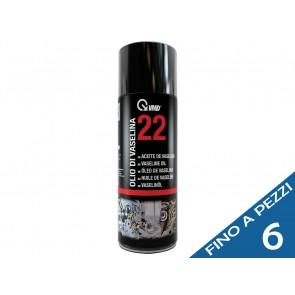 VMD 22 olio di vaselina lubrificante incolore ed inodore tanica ml 400