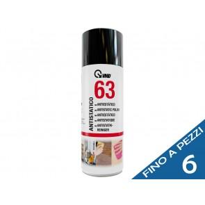 VMD 63 antistatico lucidatura delle parti in plastica tanica ml 400